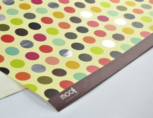 Big Polka Dots Gift Wrapping Paper