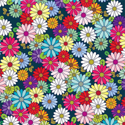 Flower Garden Gift Wrapping Paper