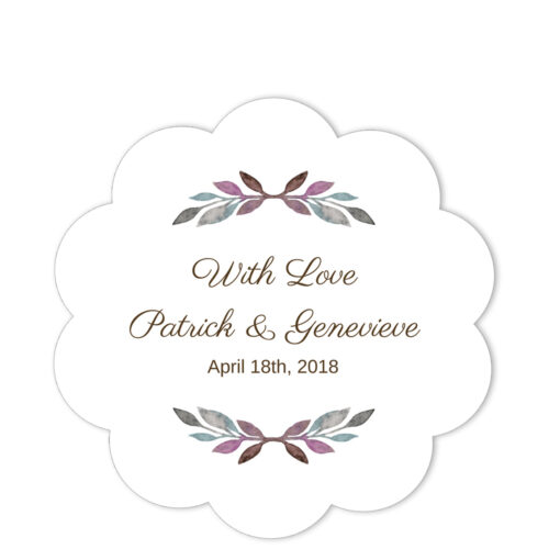 Grecian Border With Love Sticker