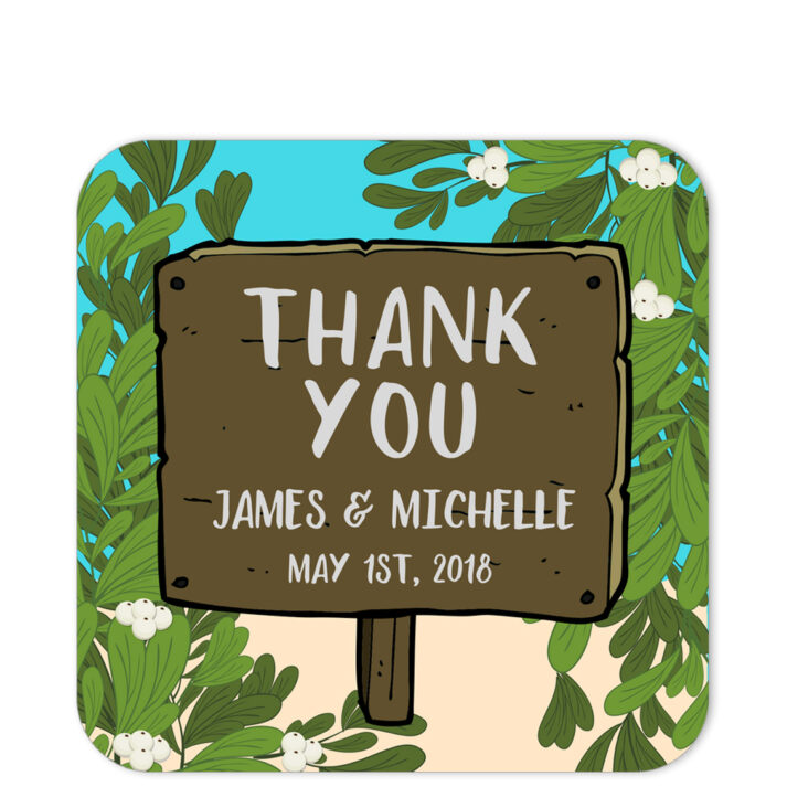Olives By The Sea Thank You Sticker