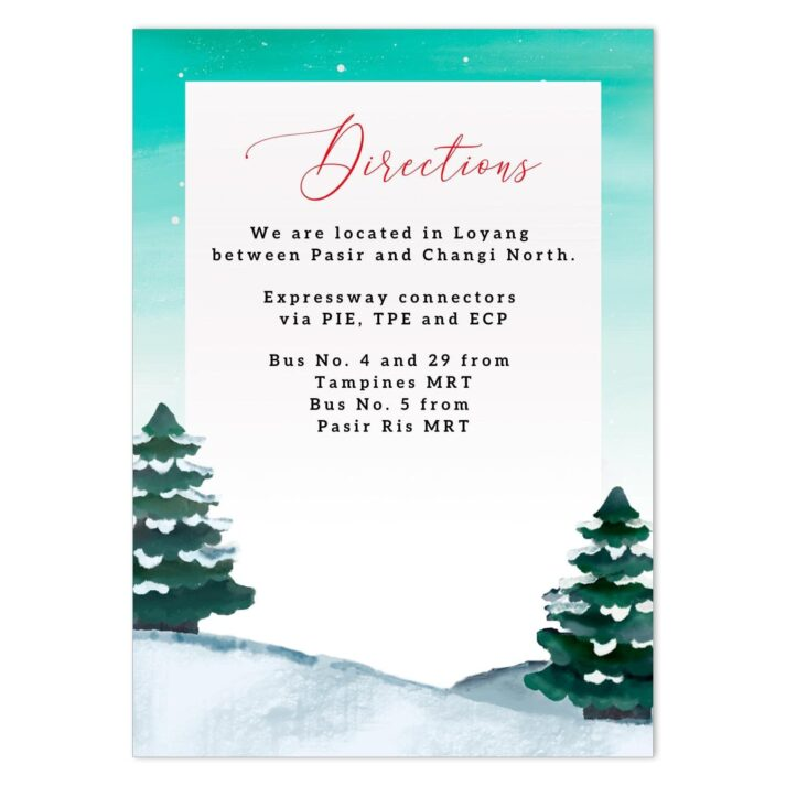 JOL-HOL-INV-1 Jolly Holiday Invitation
