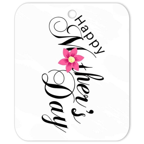 GRS-MOD-TAG-1 Grey Sketch Mothers Day Tag