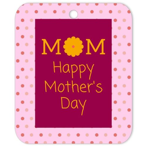 PPO-MOD-TAG-1 Pink Polka Celebration Tag