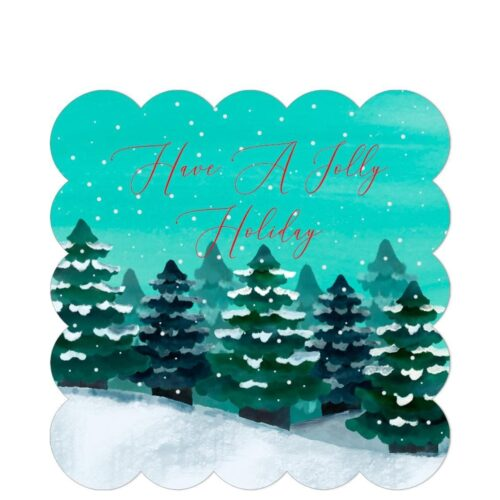 Jolly Holiday Sticker