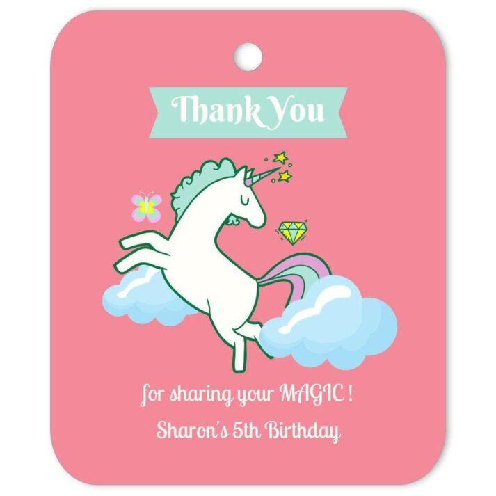 UNI-CEL-TAG-1 Unicorn Celebration Tag