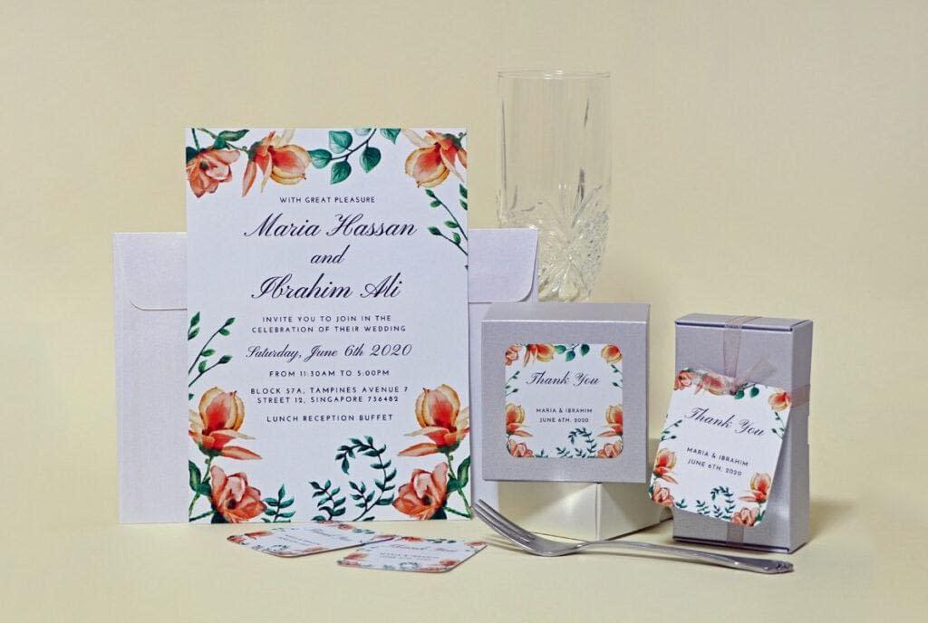 5 Safe Orange Colour Combos For A Wedding Party