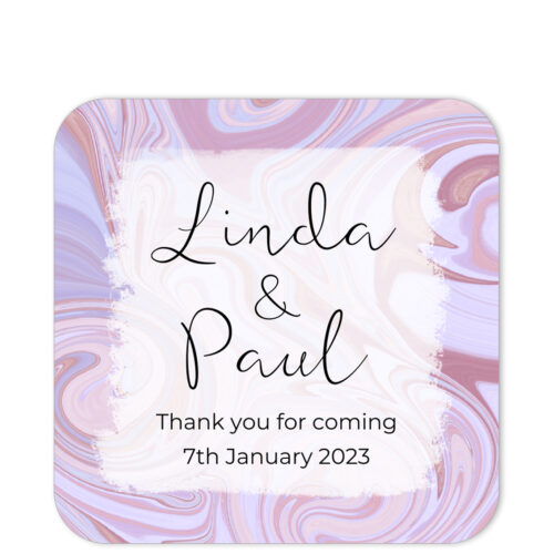 SWI-PNK-1_Swirl Thank You Favor Sticker Label