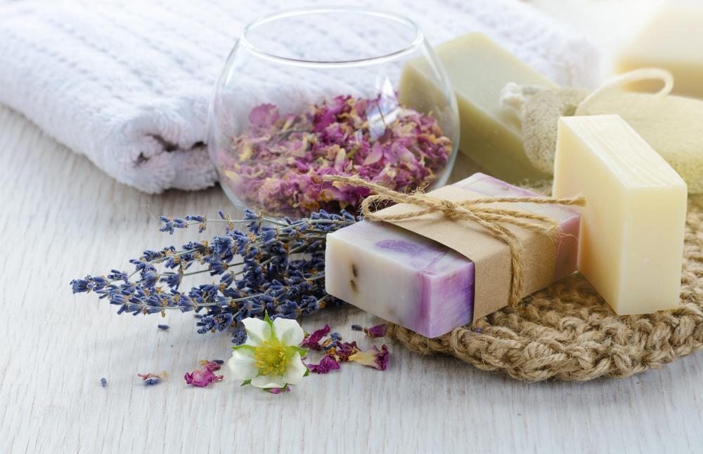 homemade soap wedding favors