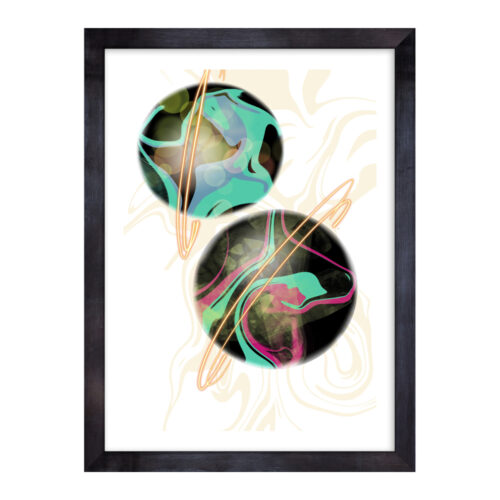 BUB-TEA-ART-1 Bubble Tea Madness Wall Art