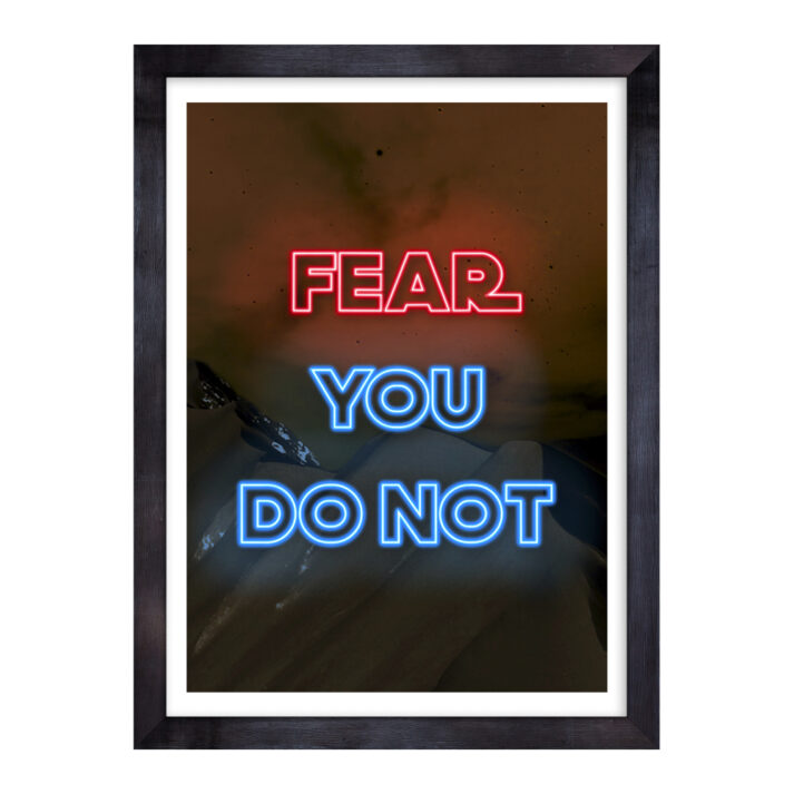 FNT-DRK-ART-1 Fear Not Dark Wall Art