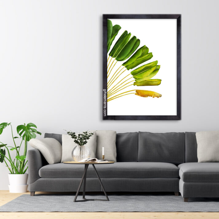 RAV-TRA-ART-1 Ravenala Travellers Palm Wall Art