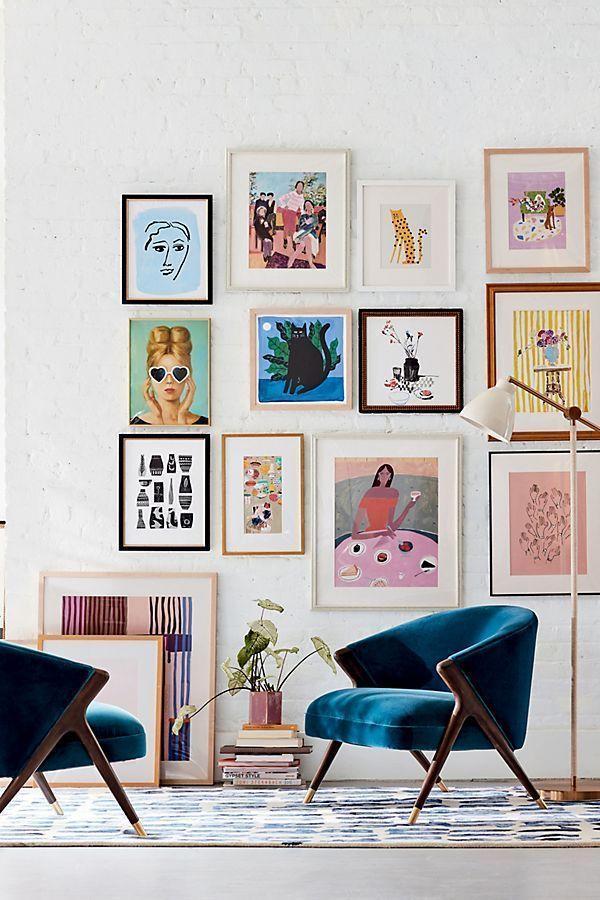 6 Ways to Select and Hang Wall Art