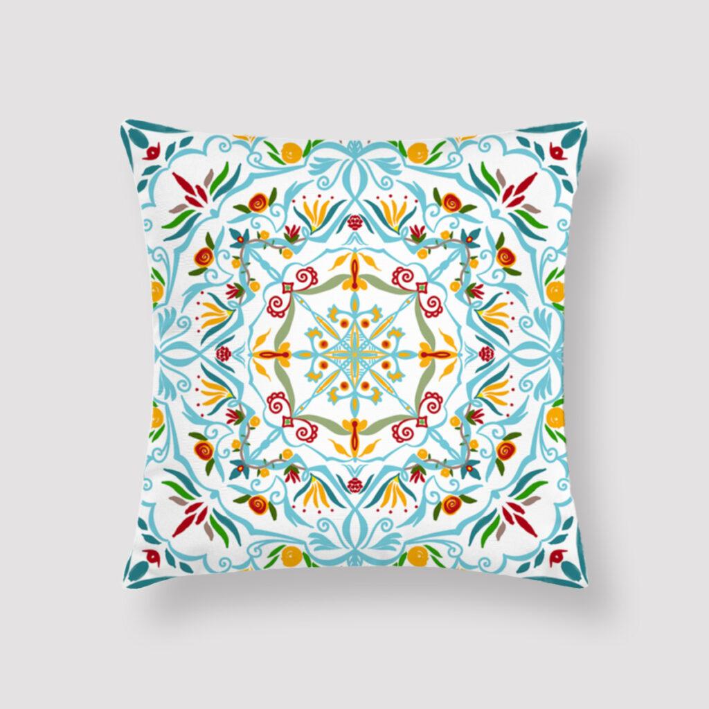 HAR-REM-CUS-1 Harem Cushion Throw Pillow