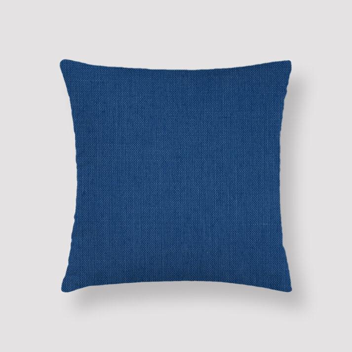 DUS-BLU-CUS-1 Dusky Blue Throw Pillow