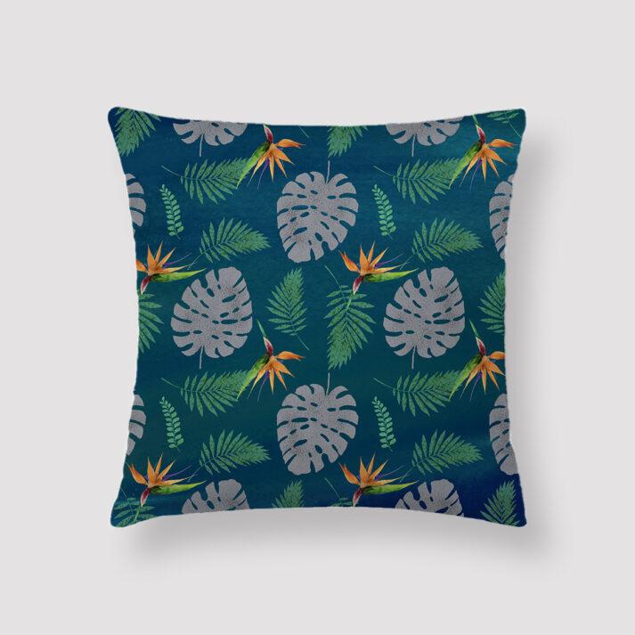TRO-CAL-CUS-1 Tropical Calm Cushion Throw Pillow