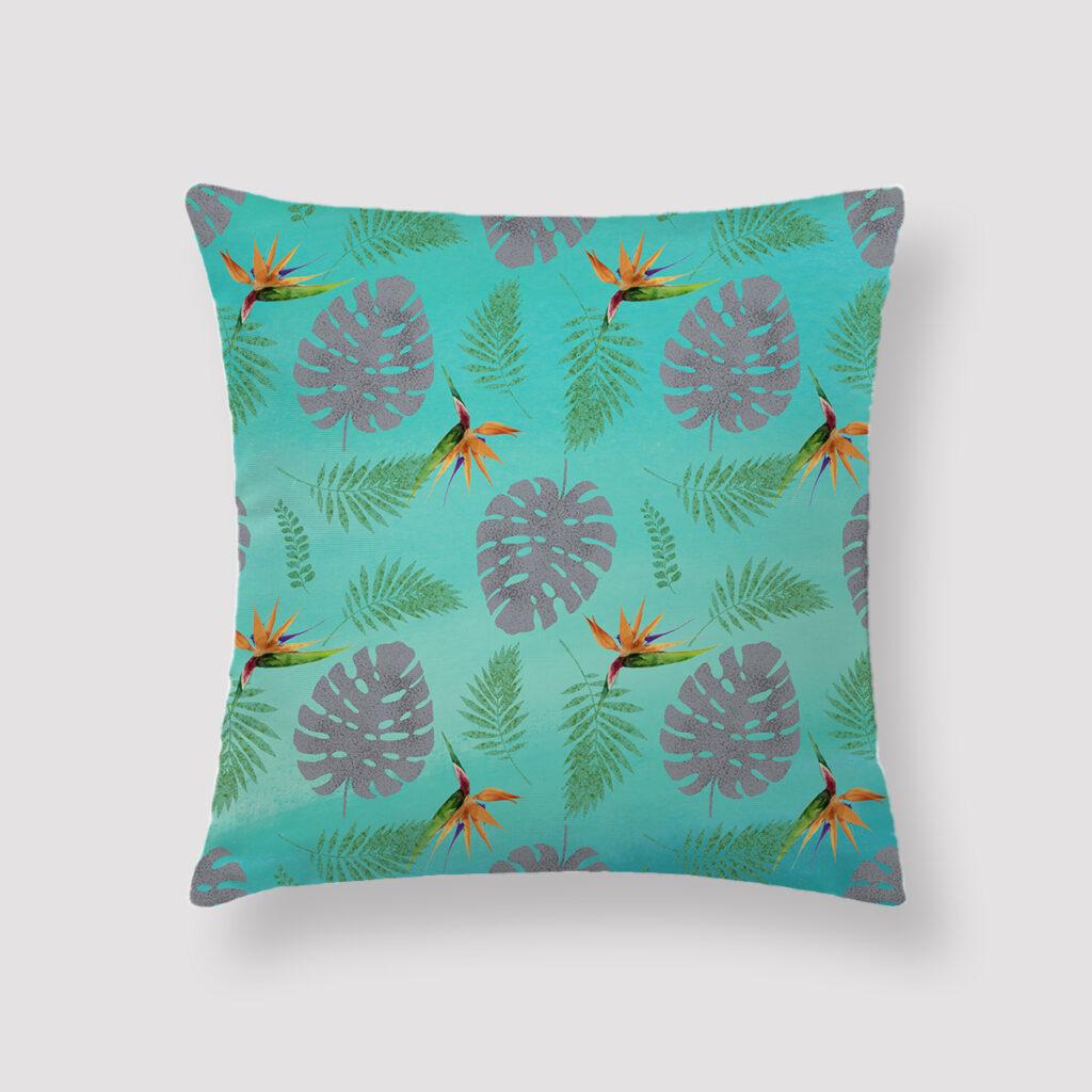 TRO-FUN-CUS-1 Tropical Fun Cushion Throw Pillow