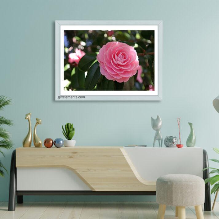 PIN-ROS-PHO-1 Pink Rose Photo Art