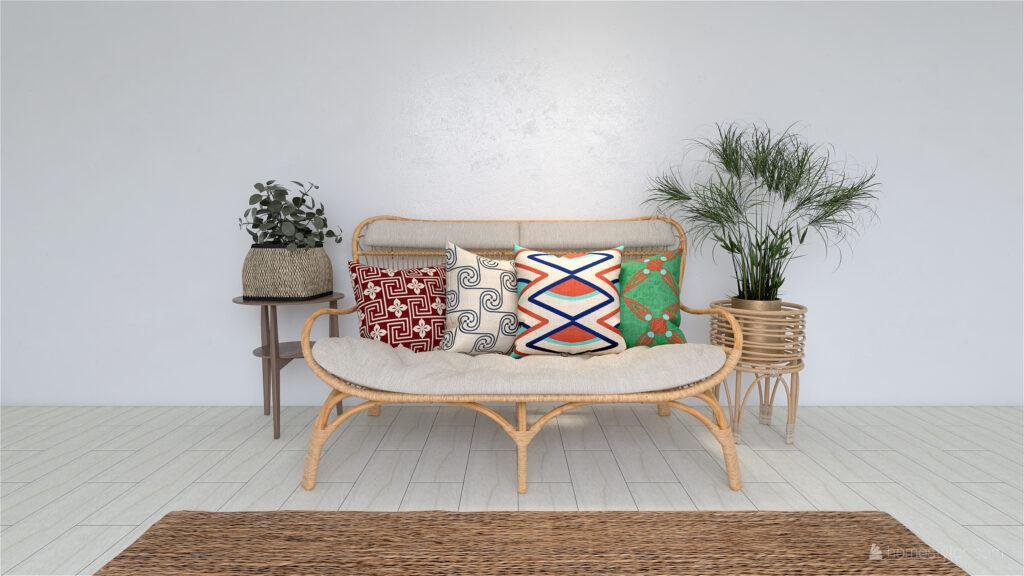 Egyptian Cushion Cover Throw Pillows