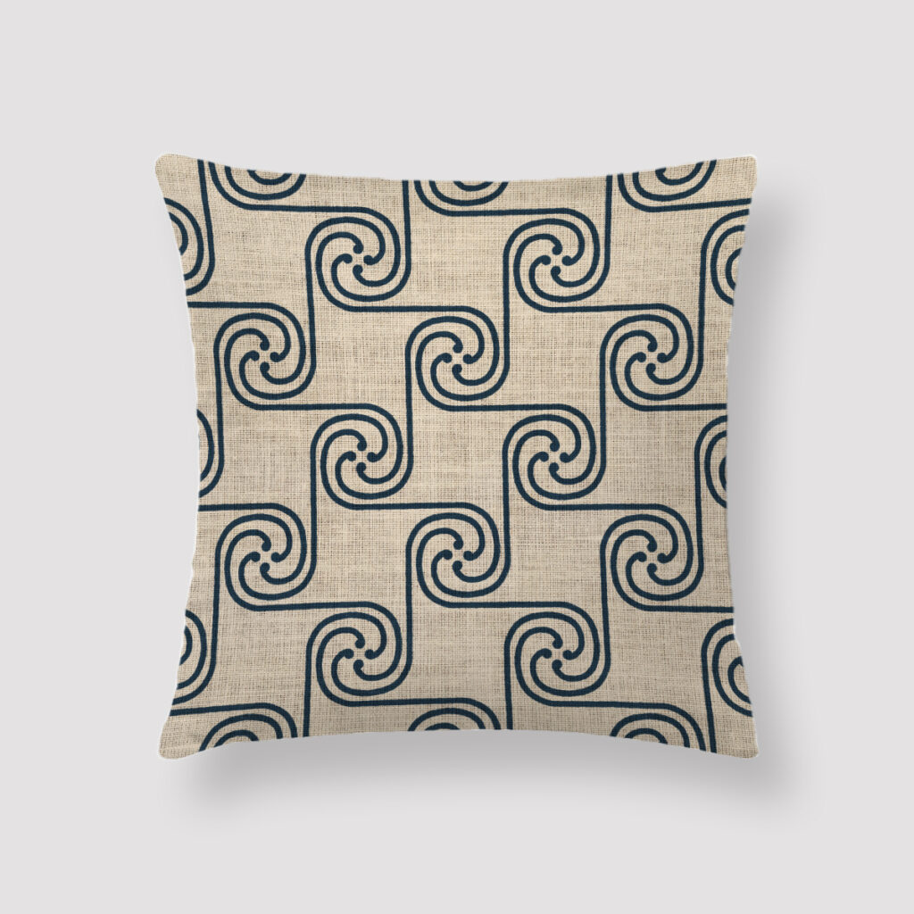 GIZ-EGY-CUS-1 Giza Cushion Throw Pillow