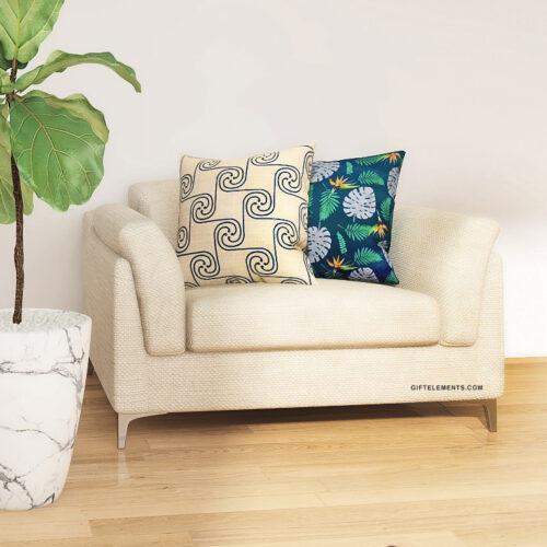 Giza Cushion Throw Pillow