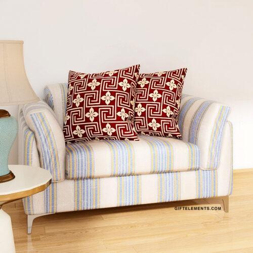 Memfis Cushion Throw Pillow