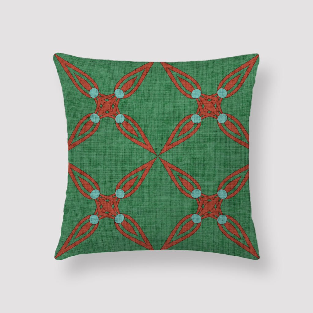 NIL-EGY-CUS-1 Nile Cushion Throw Pillow