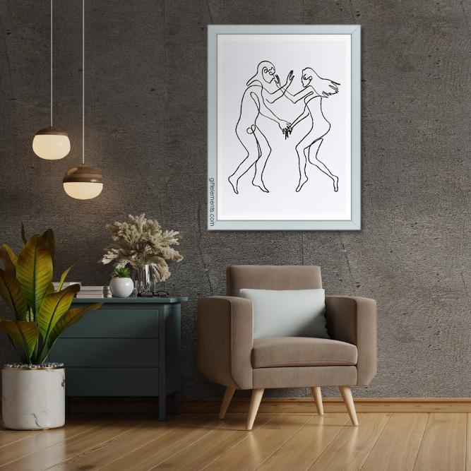 LON-YOU-ART-1 Longing For You Wall Art