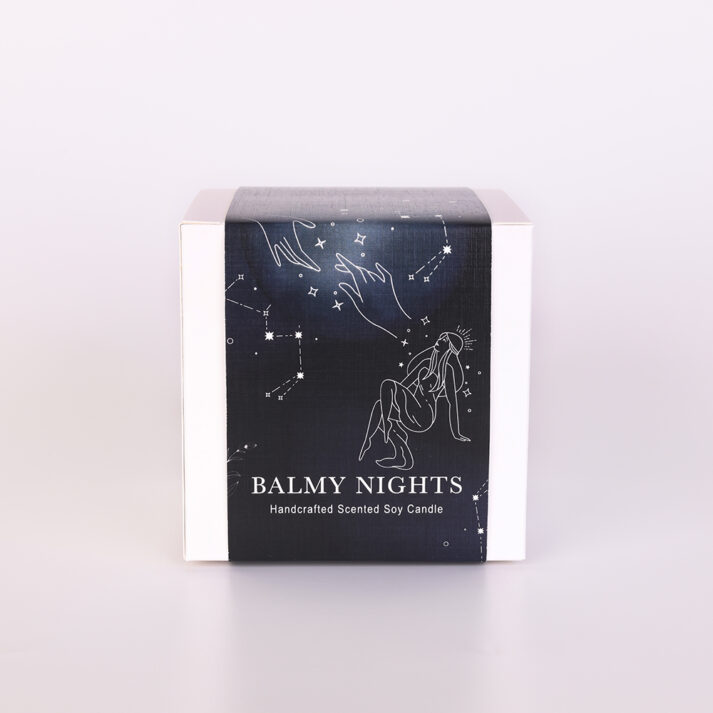 BAL-NIG-CAN-L1 Balmy Nights Large Scented Candle